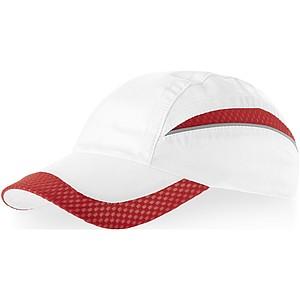 EDGE Kšiltovka Slazenger se síťovaným kšiltem, bílá červená
