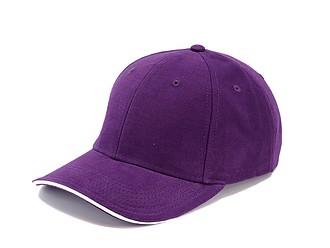 Trendy čepice se sendvičovým kšiltem, fialová