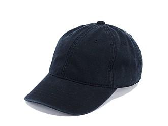 Šestipanelová bavlněná čepice s přezkou, černá - reklamní čepice