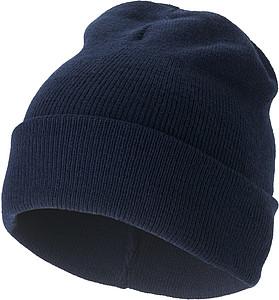 SKI Pletená čepice, námořní modrá