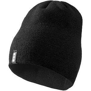 DUJEK Dvouvrstvá akrylová čepice Elevate, černá - reklamní čepice