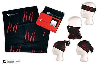 SCHWARZWOLF BANDANA šátek z mikrovlákna - reklamní čepice