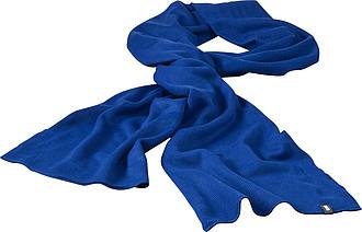 JAREMA Dvouvrstvá akrylová šála Elevate 180x26 cm, královská modrá