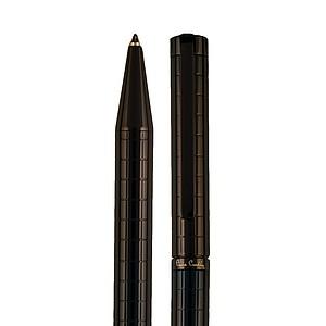 PIERRE CARDIN ESPACE Kovové KL s modrou náplní, černé