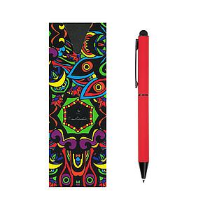 PIERRE CARDIN CELEBRATION Kovové kuličkové pero se stylusem, červené - psací potřeby