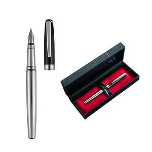 PIERRE CARDIN CHRISTOPHE Kovové plnící pero s modrou náplní - psací potřeby