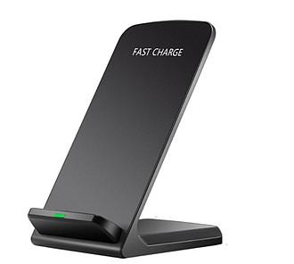 DYRNES Stojánek na mobil s rychlým 10W bezdrátovým nabíjením