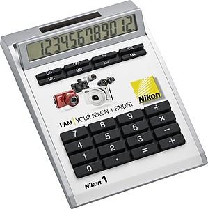 LURSA 12-místná kalkulačka pro celoplošný tisk