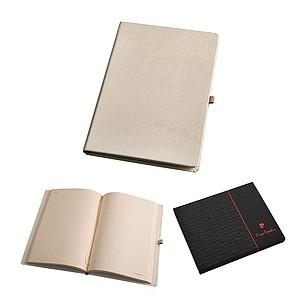 PIERRE CARDIN FABIENNE Poznámkový smetanový blok, linkovaný, A5 - reklamní zápisník