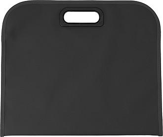 DEDERON Konferenční taška s integrovaným plastovým uchem, černá