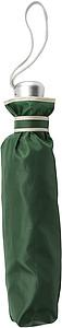 Skládací deštník, automatické otvírání i zavírání, průměr 96 cm, zelený - pláštěnky