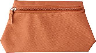 Polyesterová toaletní taška, oranžová