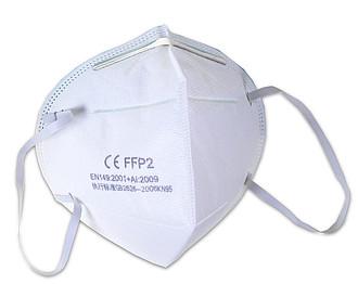 Respirátor pro ochranu dýchacího ústrojí tř. FFP2 ( KN95) baleno po 2 ks