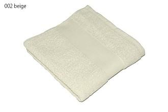 Classic ručník 50x100 cm, 100 % bavlna, 450 g/m2, sv. béžový