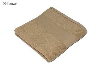 Classic osuška 70x140 cm, 100 % bavlna, 450 g/m2, tm. béžová ručníky s potiskem