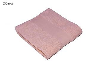 Classic osuška 70x140 cm, 100 % bavlna, 450 g/m2, sv. růžová ručníky s potiskem