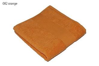 Classic osuška 70x140 cm, 100 % bavlna, 450 g/m2, oranžová ručníky s potiskem
