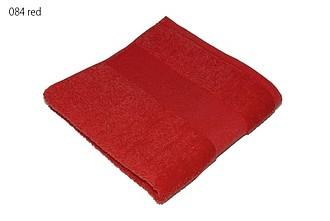 Classic osuška 70x140 cm, 100 % bavlna, 450 g/m2, červená ručníky s potiskem