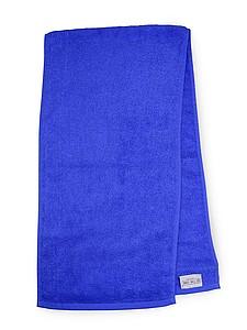 MASEWERA Sportovní ručník 30x130 450 gr/m2, královská modrá ručníky s potiskem