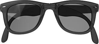 Skládací sluneční brýle s UV400, černé