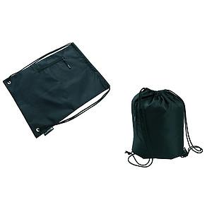 SCHWARZWOLF NUNAVUT stahovací batoh černý 420D polyester