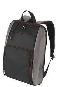 SCHWARZWOLF PIRIN batoh, černý s červenými detaily