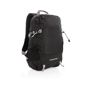 Outdoorový RFID batoh na notebook, černá