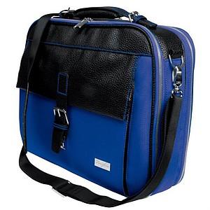ASKER Taška na laptop, modrá, 43x32x15cm