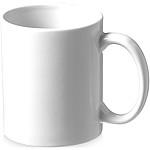 SENET Klasický keramický hrnek o objemu 330 ml, bílá