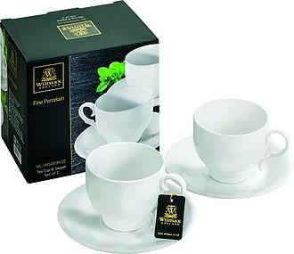 SERENATA Porcelánová sada na čaj, 220 ml ručníky s potiskem