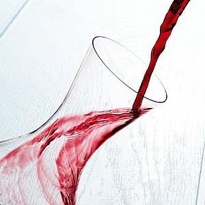 VS AKAROA Skleněná karafa na víno, 1,5 l
