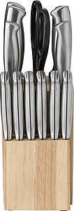 14ti dílná sada kuchyňských nožů ve stojanu