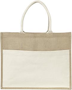 Nákupní taška z juty papírová taška s potiskem