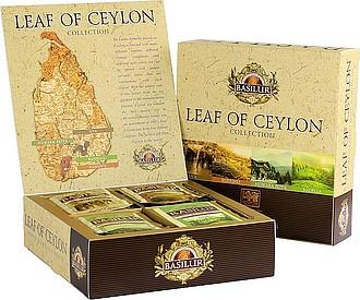 MAGALAS Leaf of Ceylon, čaje Basilur, Assorted přebal 40 sáčků