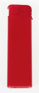 Zapalovač plastový, červený reklamní zapalovač