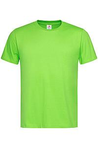 Pánské tričko STEDMAN CLASSIC -T ORGANIC MEN z bio bavlny, jasně zelená L - reklamní trička