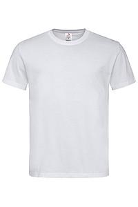 Pánské tričko STEDMAN CLASSIC-T ORGANIC MEN z bio bavlny, bílá, L - reklamní vesty