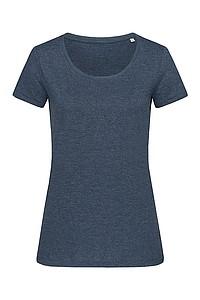 Tričko STEDMAN STARS LISA CREW NECK námořní modrá XL - reklamní trička