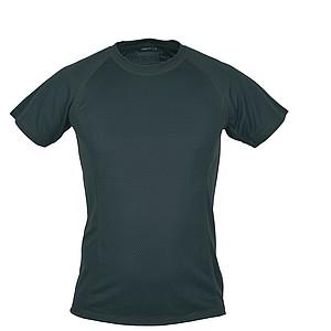 SCHWARZWOLF PASSAT MEN funkční tričko, černé prošívání, L - reklamní trička