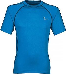 ANITA Pánské tričko Klimatex s krátkým rukávem, modrá M - reklamní trička