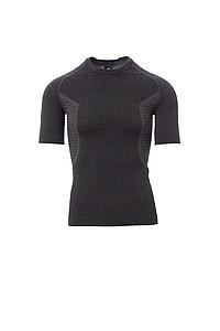 Pánské funkční tričko PAYPER THERMO PRO 160 SS, černý melír, 2/3XL - reklamní trička