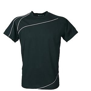 SCHWARZWOLF RILA MEN funkční tričko, černé XL