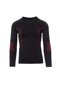 Pánské funkční tričko PAYPER THERMO PRO 240 LS, černá, 2/3XL - reklamní trička