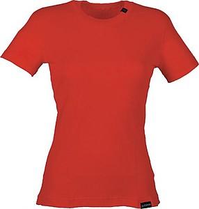 SANDRA Dámské tričko Klimatex s krátkým rukávem, červená S - reklamní trička