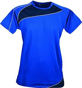 SCHWARZWOLF RILA WOMEN funkční tričko, modré M