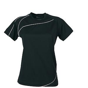 SCHWARZWOLF RILA WOMEN funkční tričko, černé XXL - reklamní trička