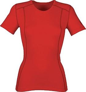 ANITA Dámské tričko Klimatex s krátkým rukávem, červená S - reklamní trička