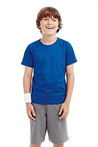 Funkční tričko STEDMAN ACTIVE 140 RAGLAN JUNIOR červená L