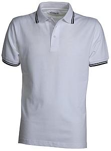 Polokošile PAYPER SKIPPER bílá, námořní modrá M - reklamní trička