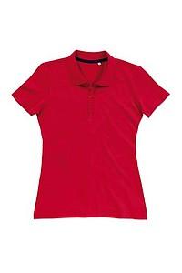 Polokošile STEDMAN STARS HANNA POLO červená M - reklamní trička